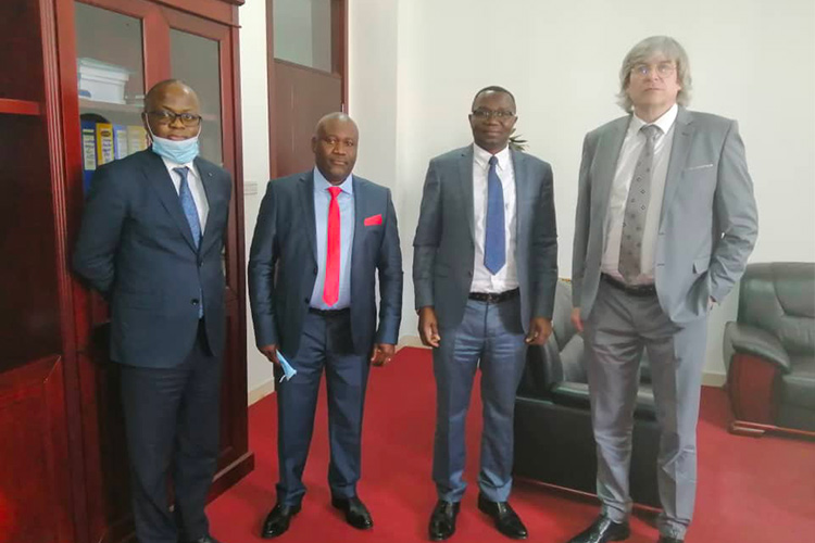 11th May 2021 – Meeting with the Minister of Industry RACHID KAHONGYA & our delegation